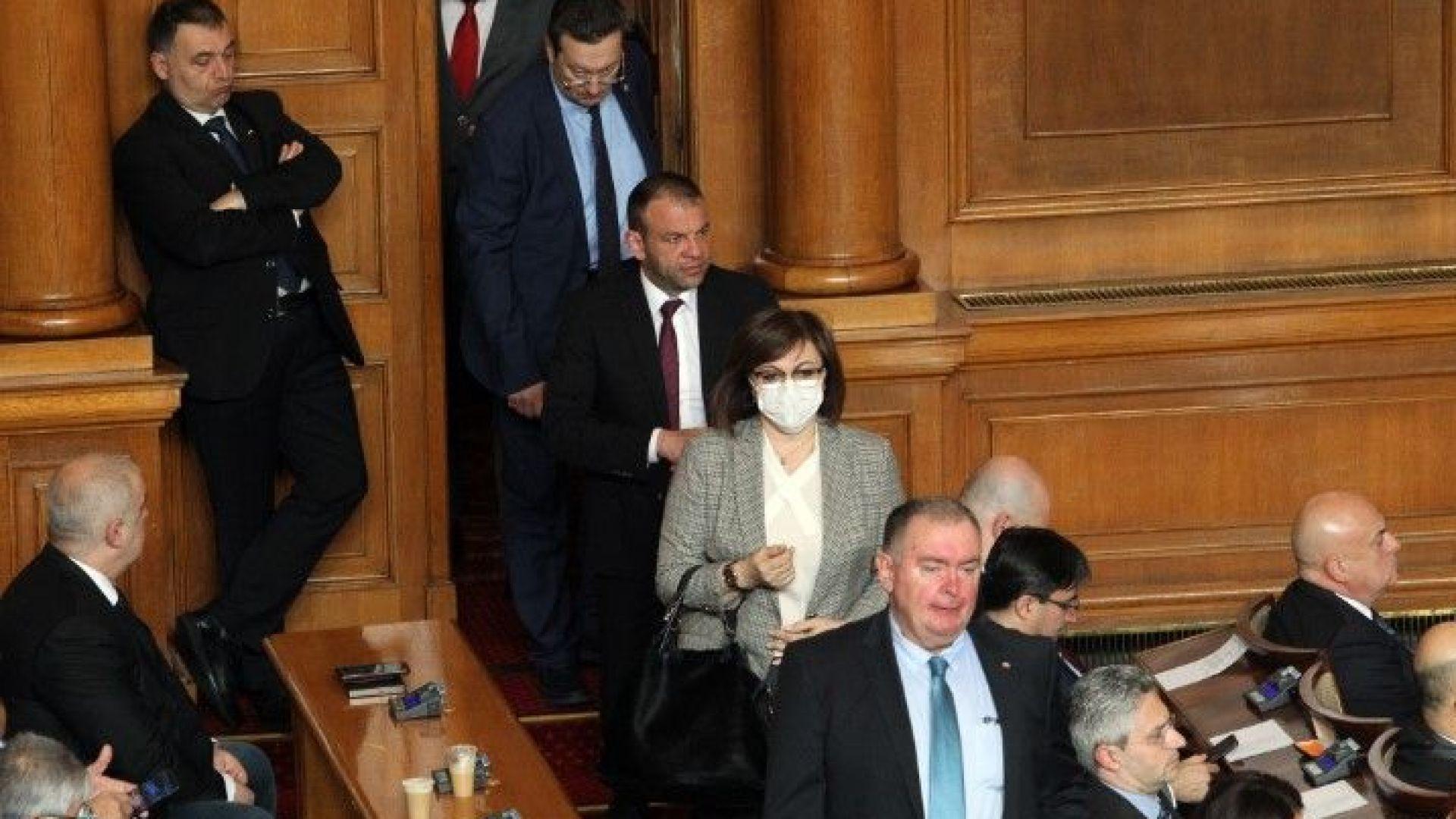 Спор в пленарна зала за мерките по време на извънредното положение