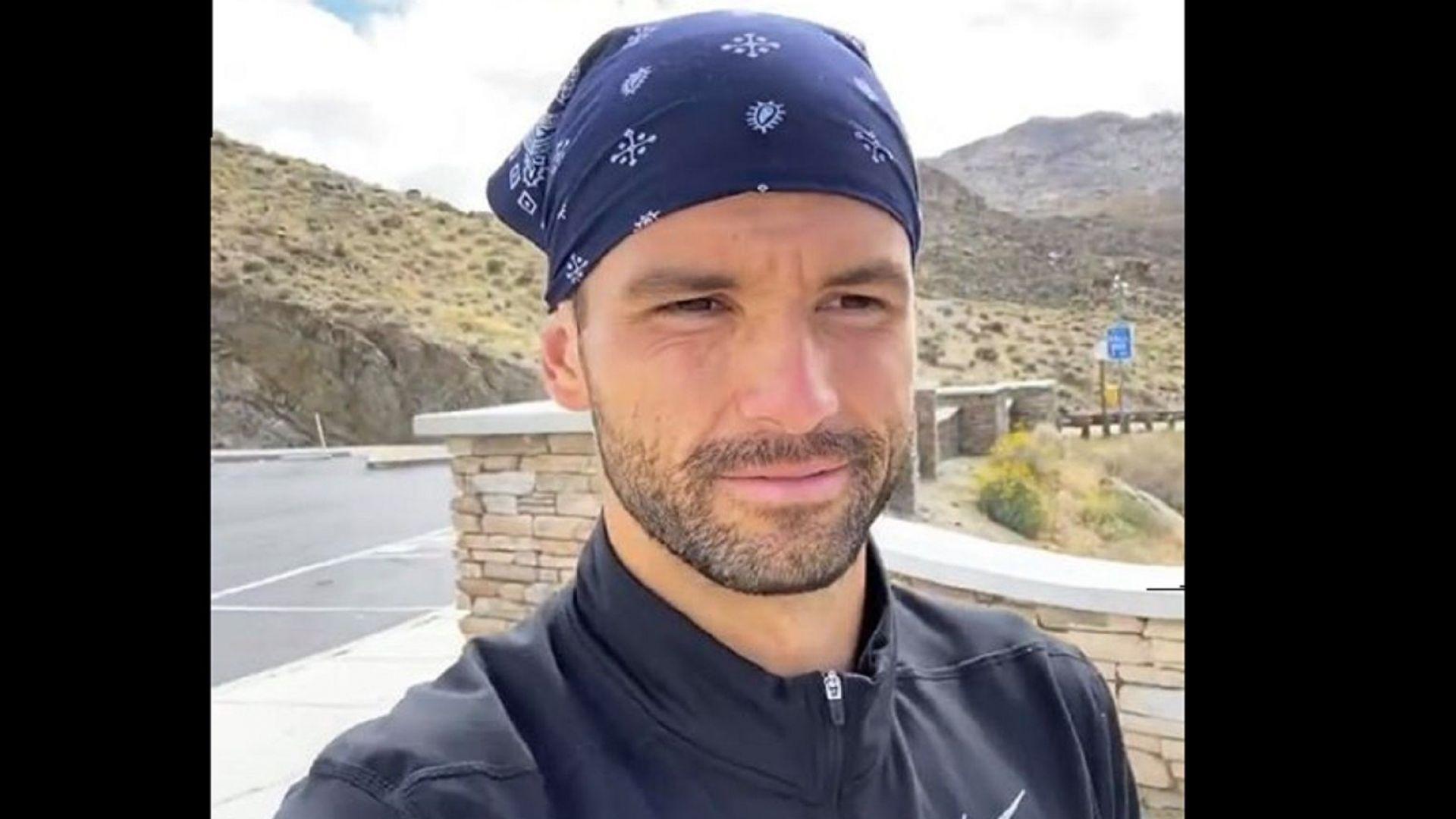 Григор Димитров се специализира в още един спорт