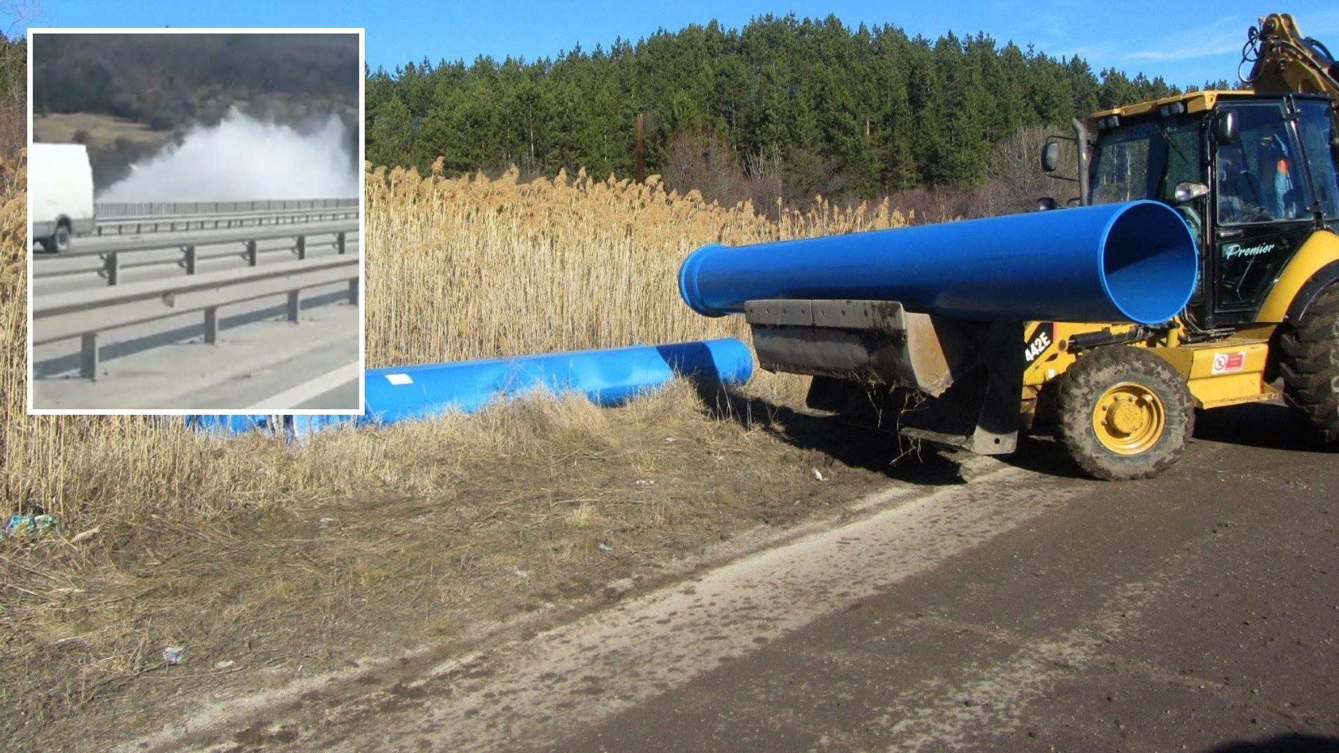 """Новият водопровод на Перник за 20 млн.лв. не работи, вземат вода от """"Студена"""""""