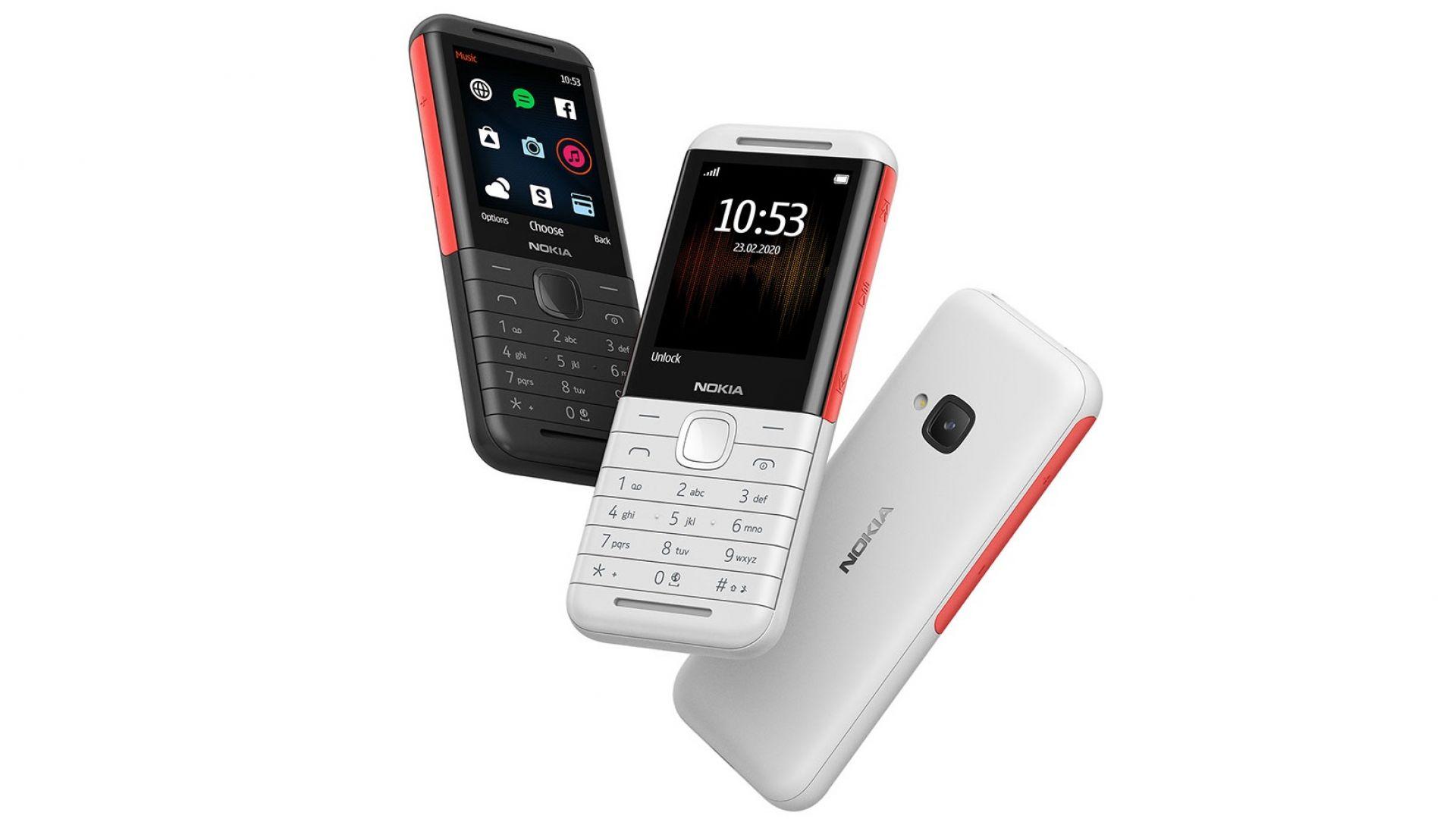 Nokia представи класически телефон с бутони от серията XpressMusic