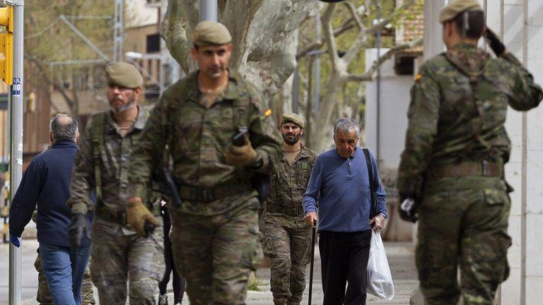 Испания официално въведе извънредно положение до 9 май.Правителството на Испания