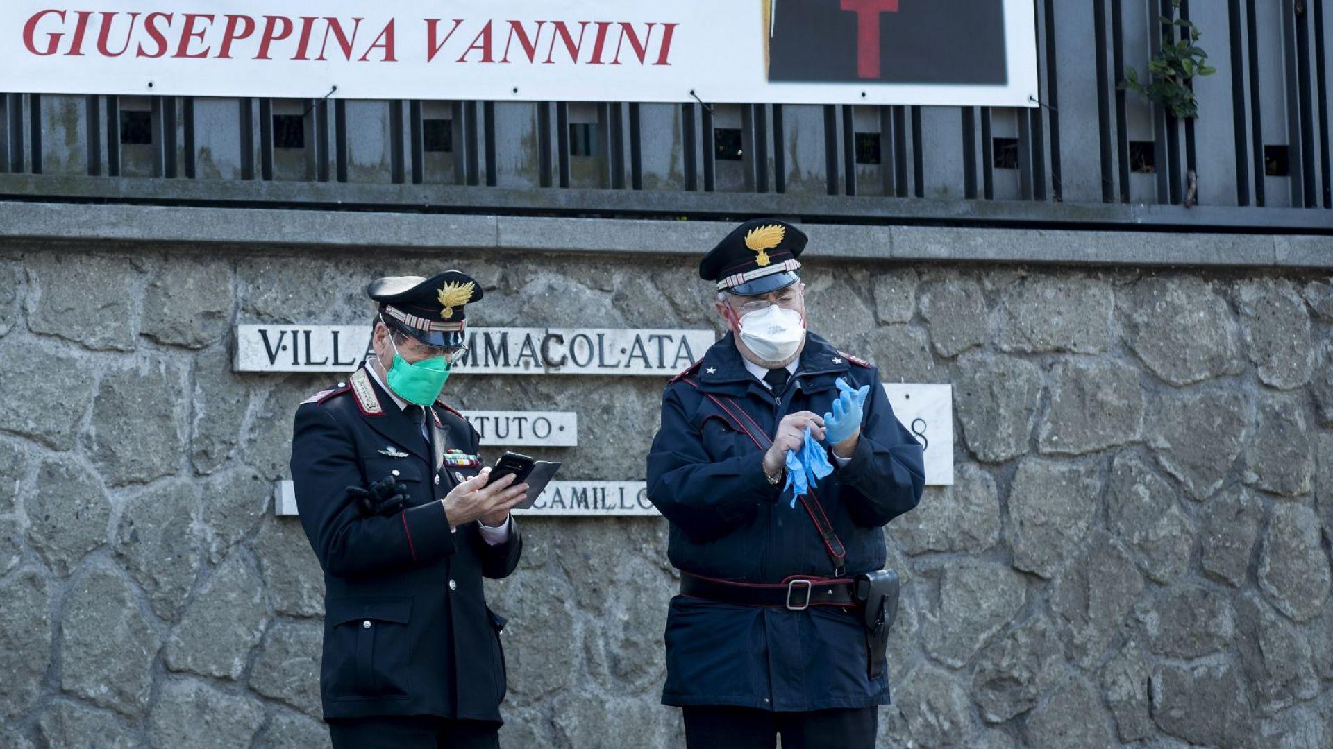 Covid рекорд: 627 починаха за ден в Италия. Ломбардия вика армията на помощ