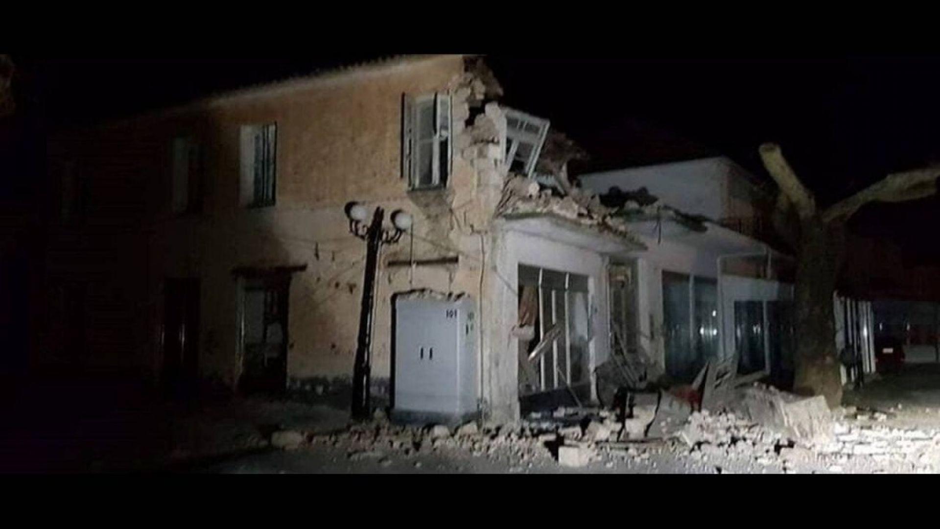 Земетресение от 5.6 по Рихтер в Западна Гърция