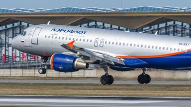 Самолетите на Аерофлот няма да летят до Бургас и София поне до 31 август
