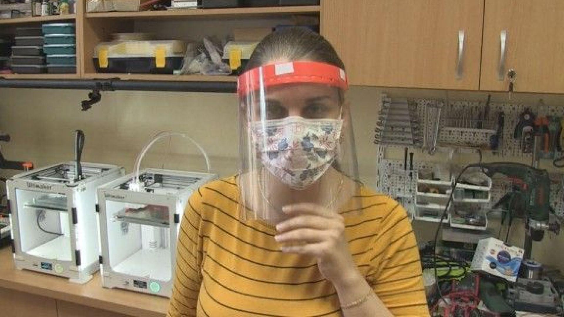 Учени от Русенския университет прават предпазни шлемове за лекарите