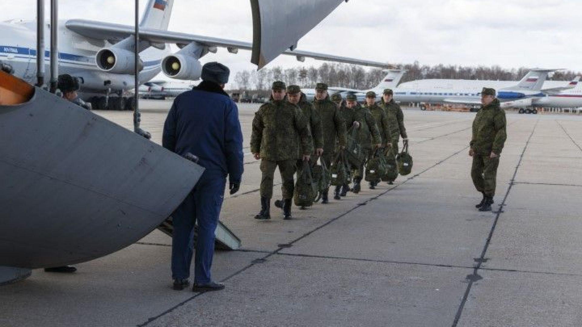 Военните лекари от Русия пристигнаха в Италия