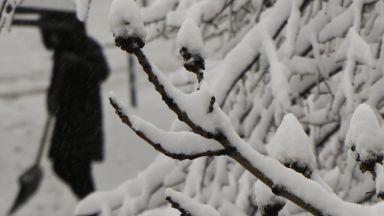 Сняг на 1 април в цялата страна, не е шега