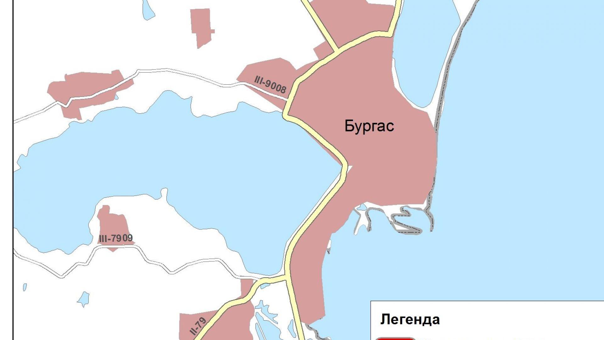 АПИ търси строител за северния обходен път на Бургас