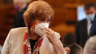 Менда Стоянова: Лимитът на дълга ще бъде горещият картоф, който БСП ще прехвърля