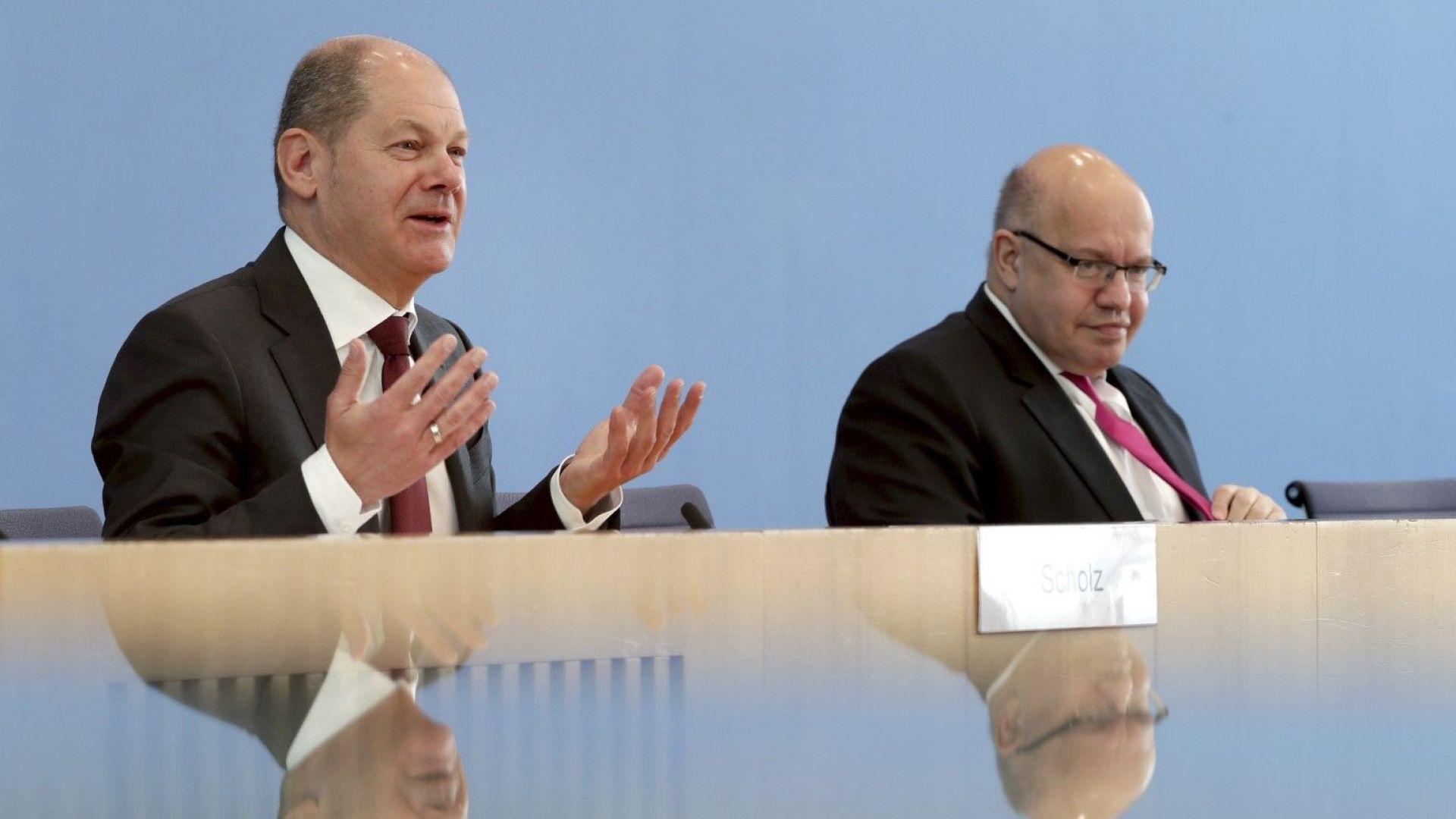 Германия отпуска безпрецедентна помощ за бизнеса