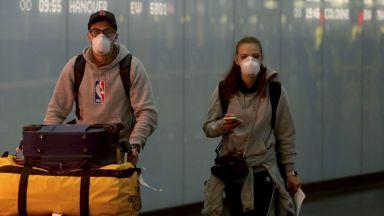 Забравил дефицита, Китай залива света с предпазни маски