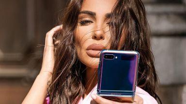 Технологичното бижу на Николета Лозанова, което коренно променя играта - Samsung Galaxy Z Flip!