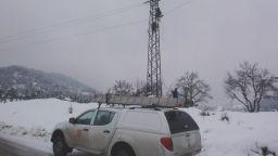 Проблеми с тока заради снега в Русе