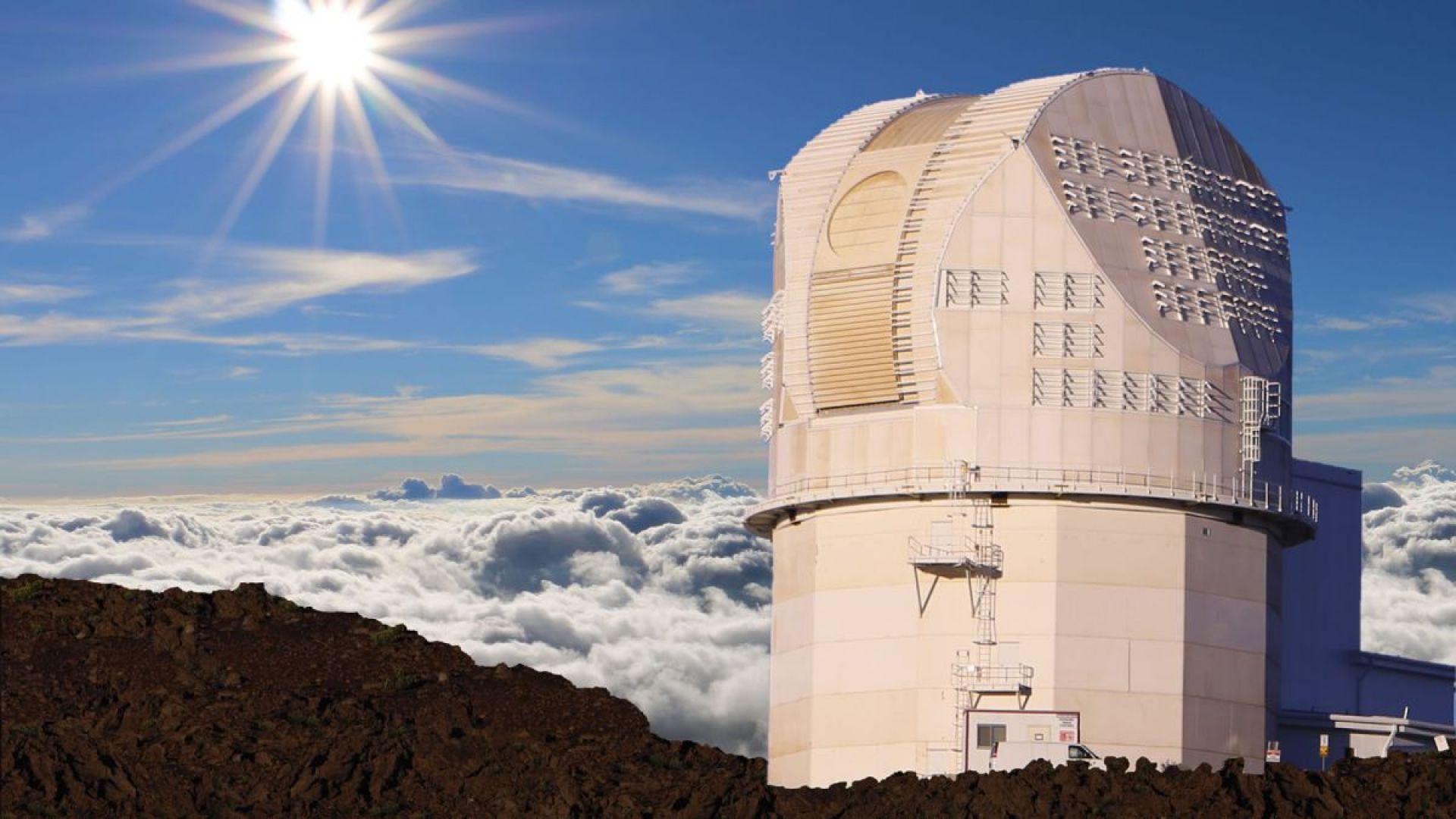 Китай за пръв път конструира свой слънчев телескоп