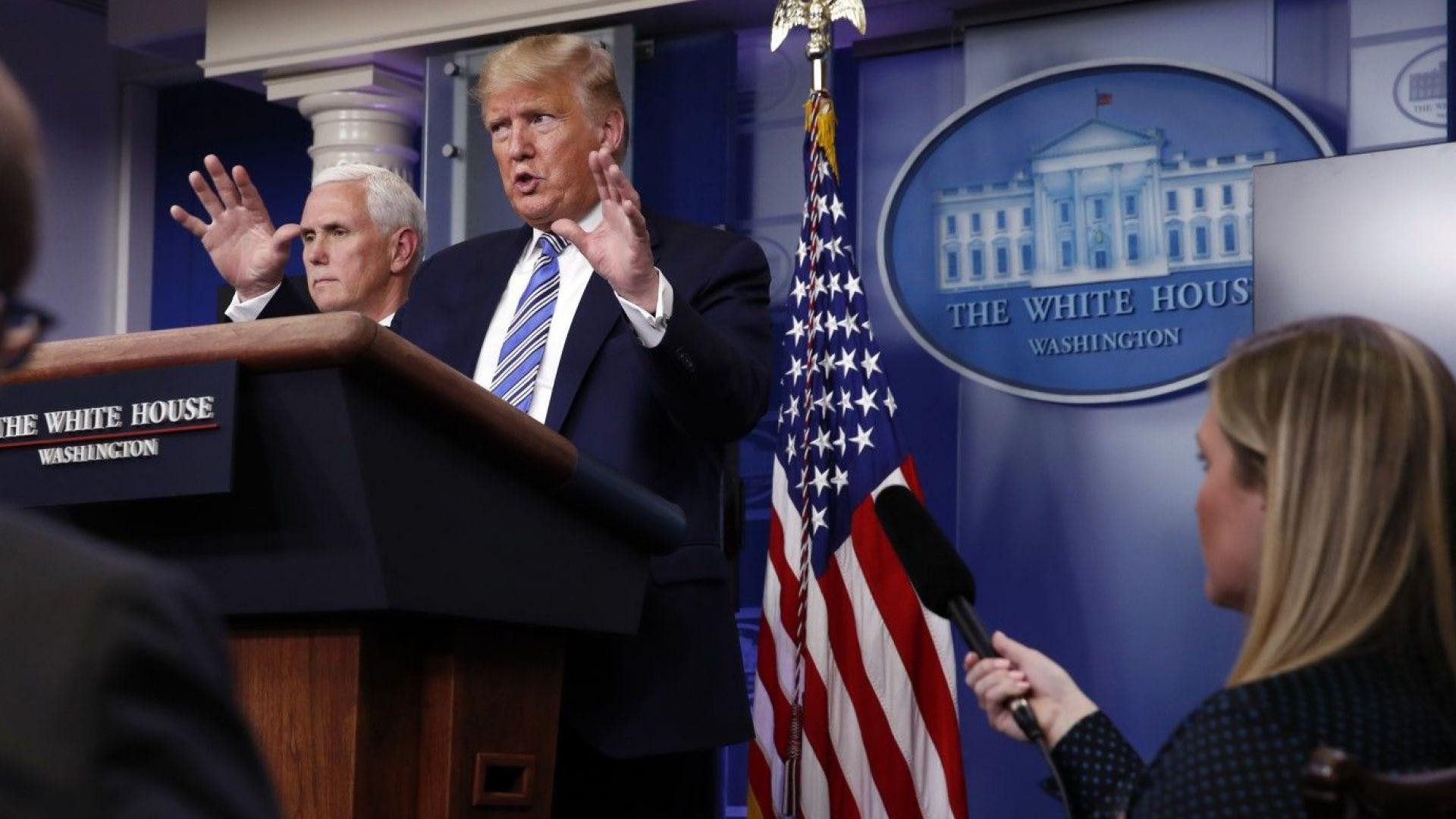 САЩ може да се превърнат в нов епицентър на заразата: какво ще направи президентът