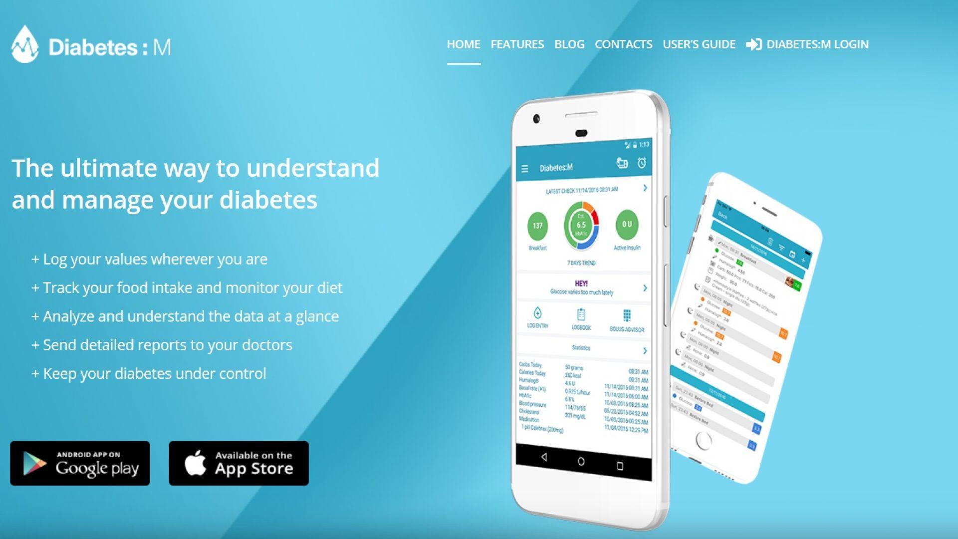 Българско мобилно приложение помага на болните от диабет* в настоящата карантина
