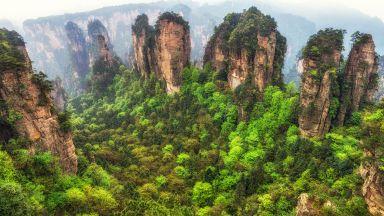 Вижте най-красивия парк в Китай, в който е заснет известният филм