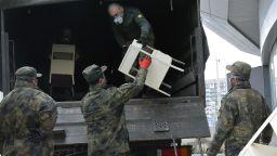 Изнасят цялото оборудване на военно-полевата болница в Русе