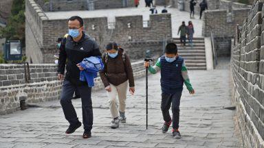 Великата китайска стена посреща туристи (снимки и видео)