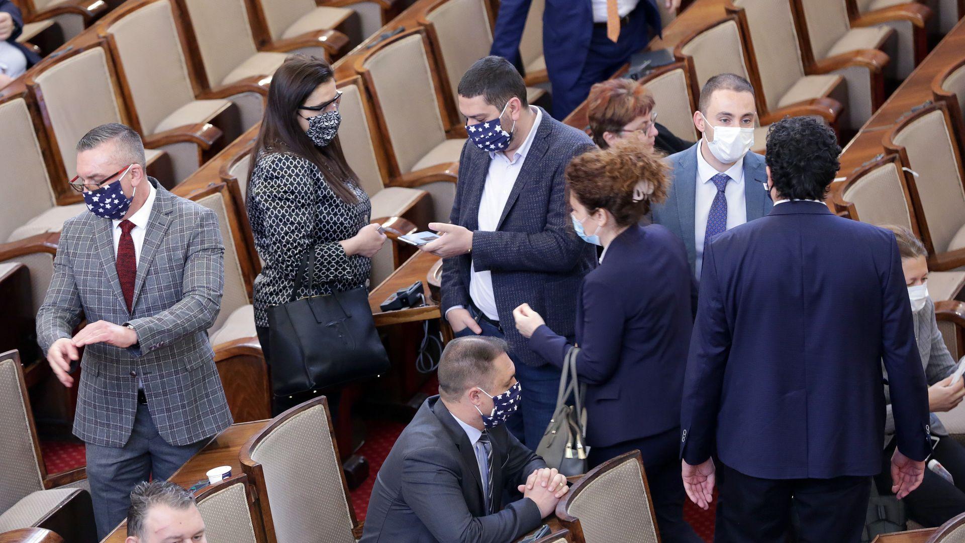 Спор да спре ли работа НС: Караянчева заговори за Чернобил, депутат от ГЕРБ обяви, че сестра му е заразена