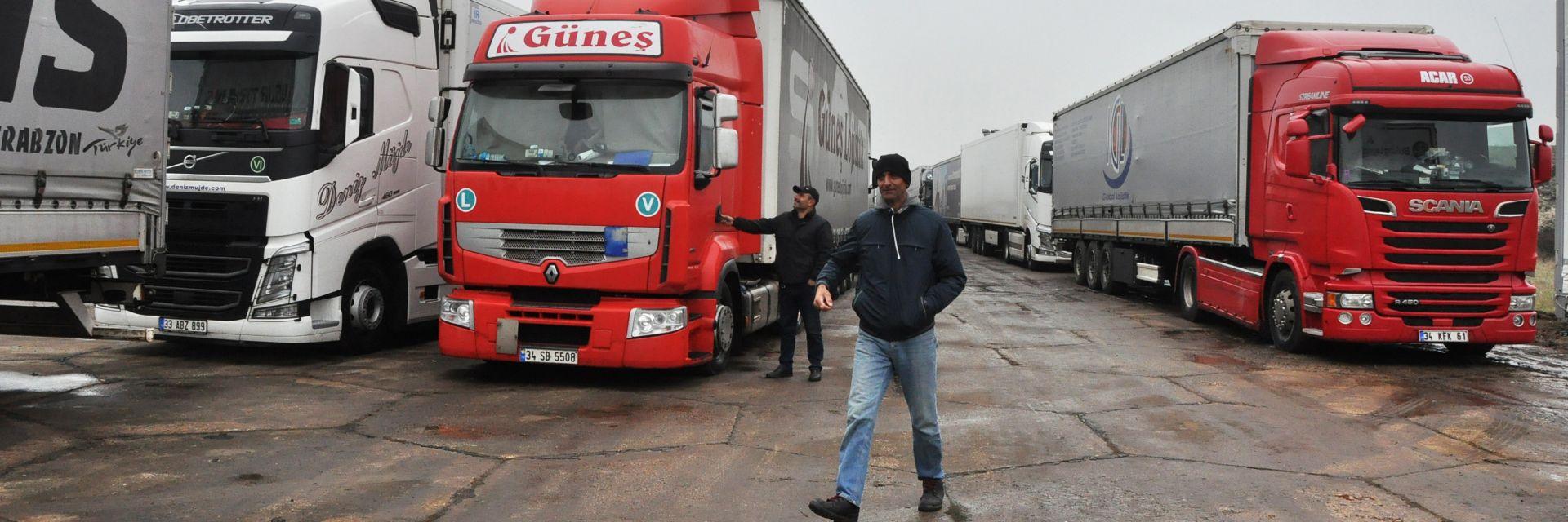 Паркингът край Узунджово вече работи, може да побере до 3000 камиона
