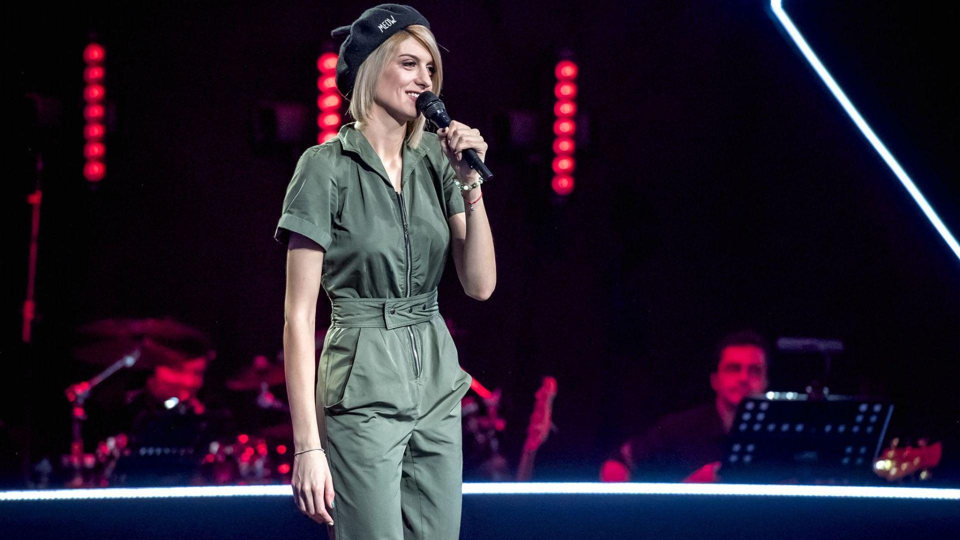 """Състудентка на Михаела Филева я изненада в гръб в """"Гласът на България"""""""