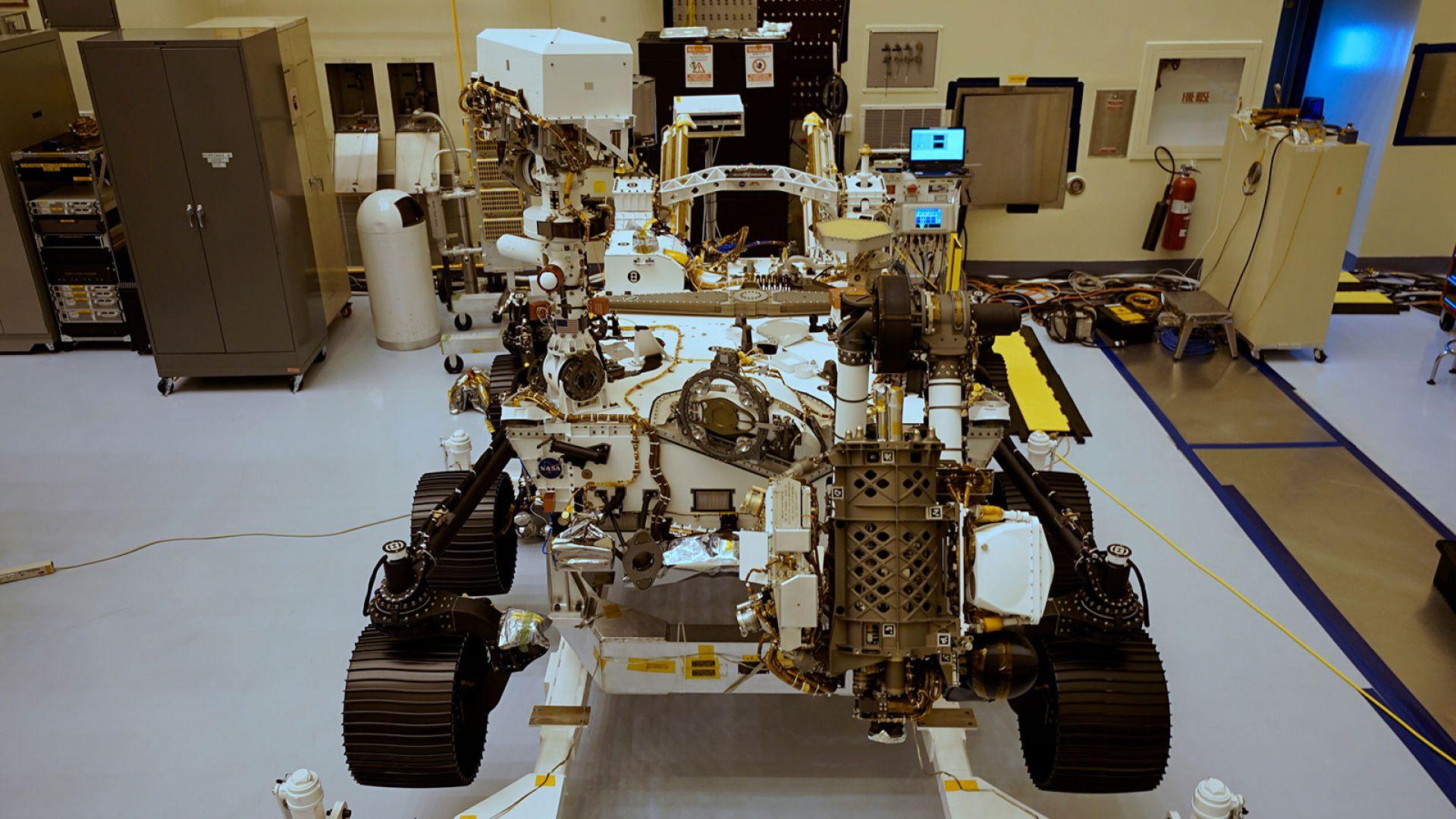 """НАСА отложи изстрелването на марсохода """"Пърсивиърънс"""""""