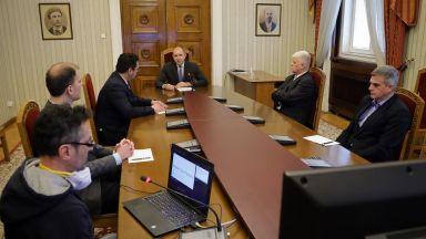 Президентът предлага на щаба за COVID-19 система за мониторинг и комуникация