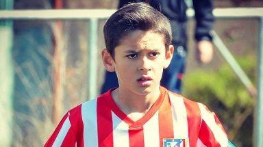 Почина 14-годишен играч на Атлетико (Мадрид)