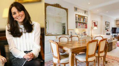 Вижте стилното 3-етажно жилище на Кейт  Мидълтън, продадено за 2 млн. британски лири