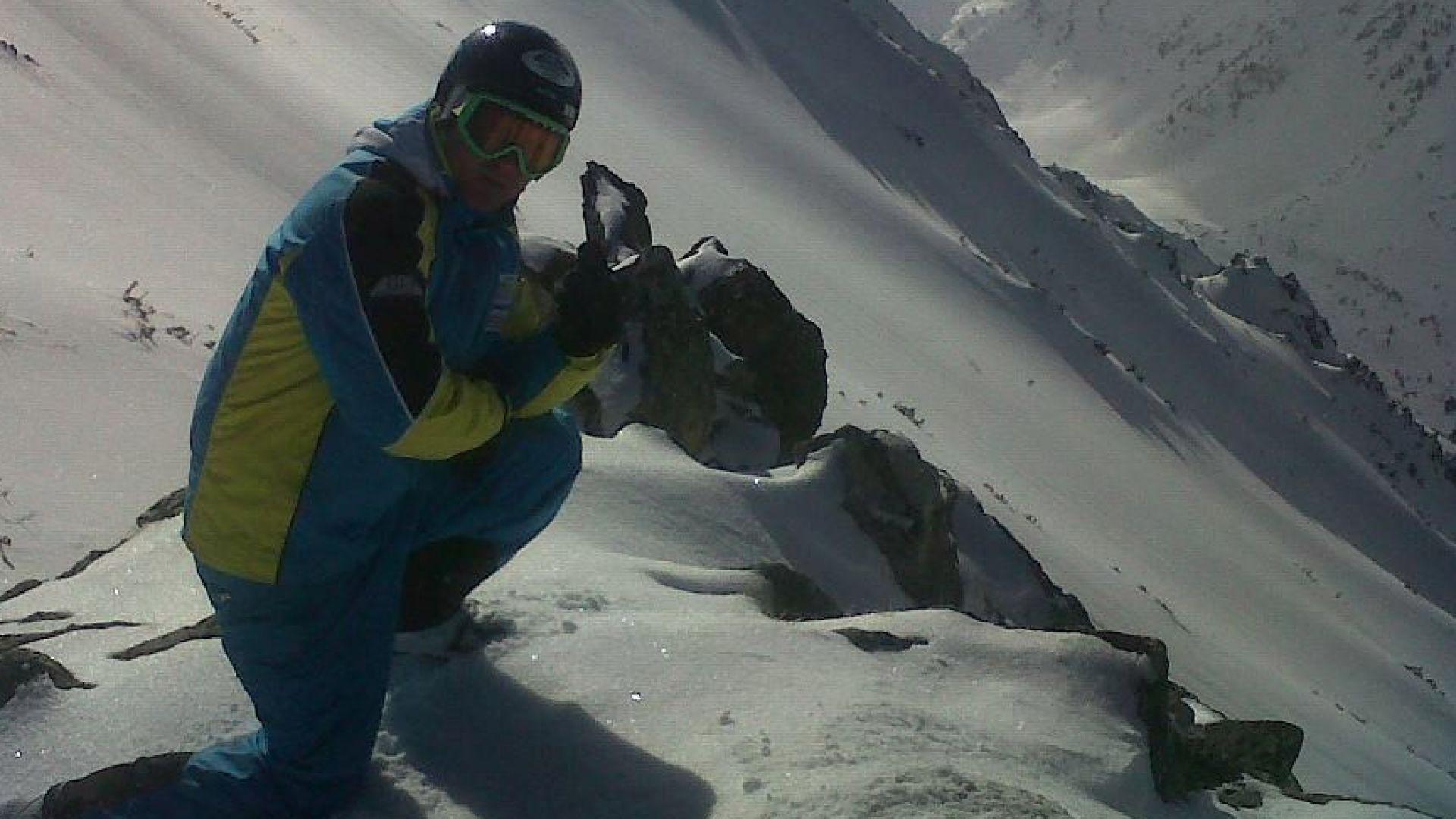 Разказ по преживяно: Учителят по ски, който пребори коронавируса , нямал задух и кашлица