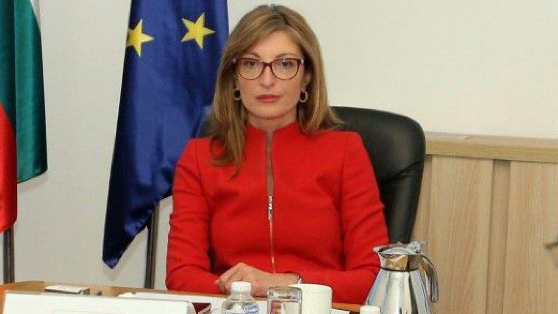 Захариева пред ЕС: България е една от най-сигурните туристически дестинации