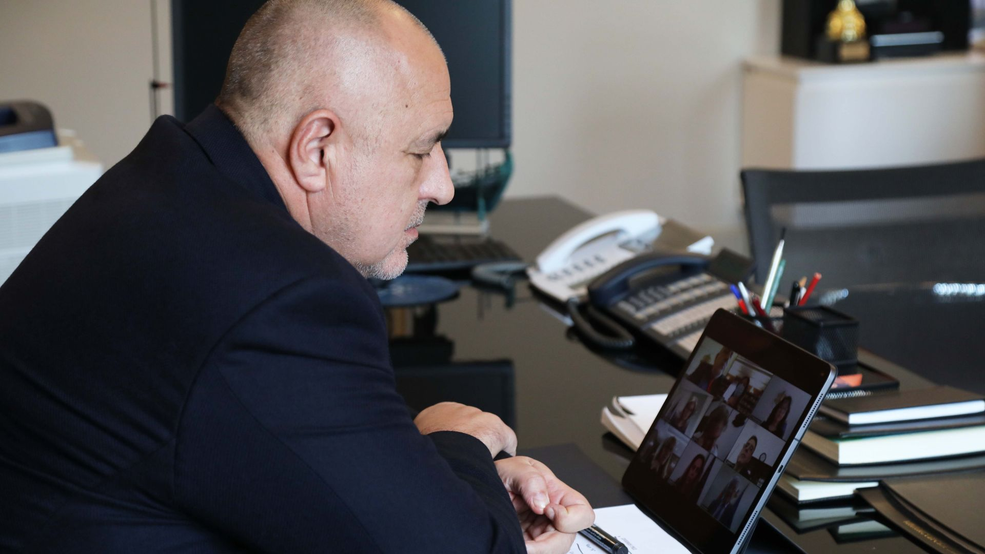 Министър-председателят Бойко Борисов проведе телефонен разговор с президента на Корея