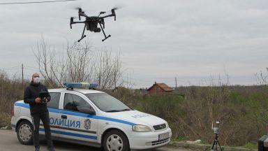 Пазят вилните зони край Русе с дронове (снимки)