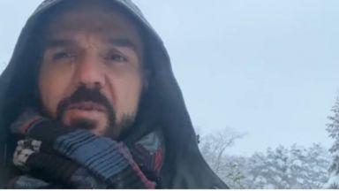 Зимата през пролетта с Графа у дома (видео)