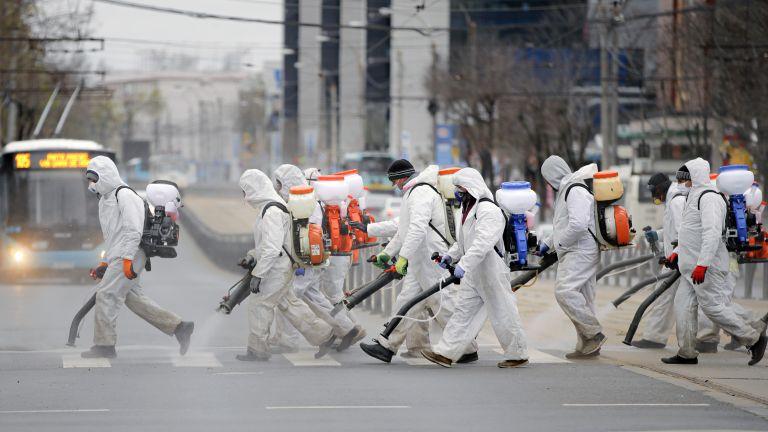 Мерки срещу Ковид-19 в Букурещ