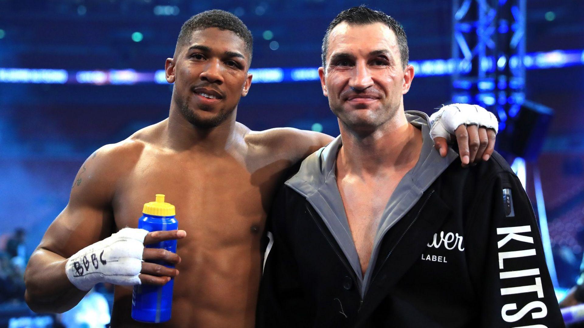 Джошуа се е съветвал и с легендата Кличко как да победи Кубрат Пулев