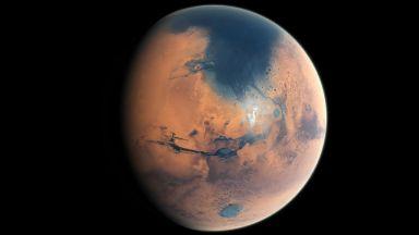 Установиха произходa на водата на Марс