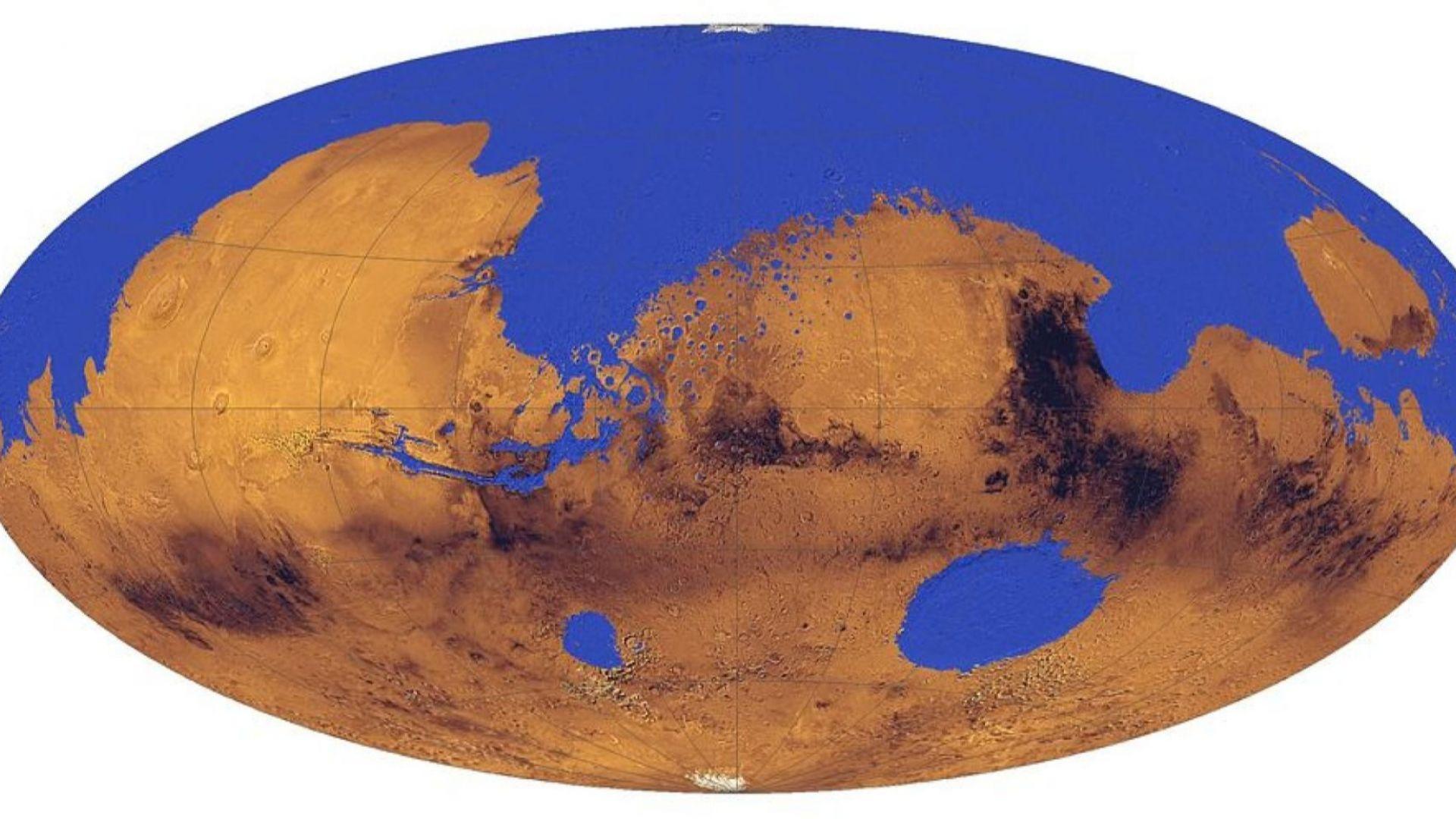 Учените смятат, че Марс е изглеждал така преди няколко милиарда години