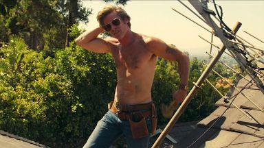 Правилото, което Тарантино научи, режисирайки Брад Пит: Не му казваш как да се съблича
