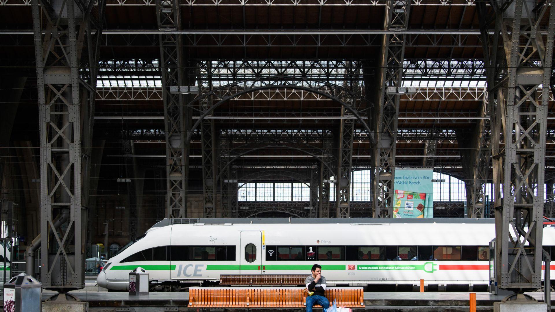Германските влакове станаха още по-точни