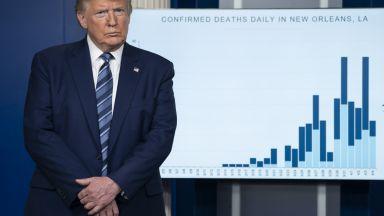 """Тръмп предупреди за """"ужасяващ"""" брой жертви в следващите дни"""