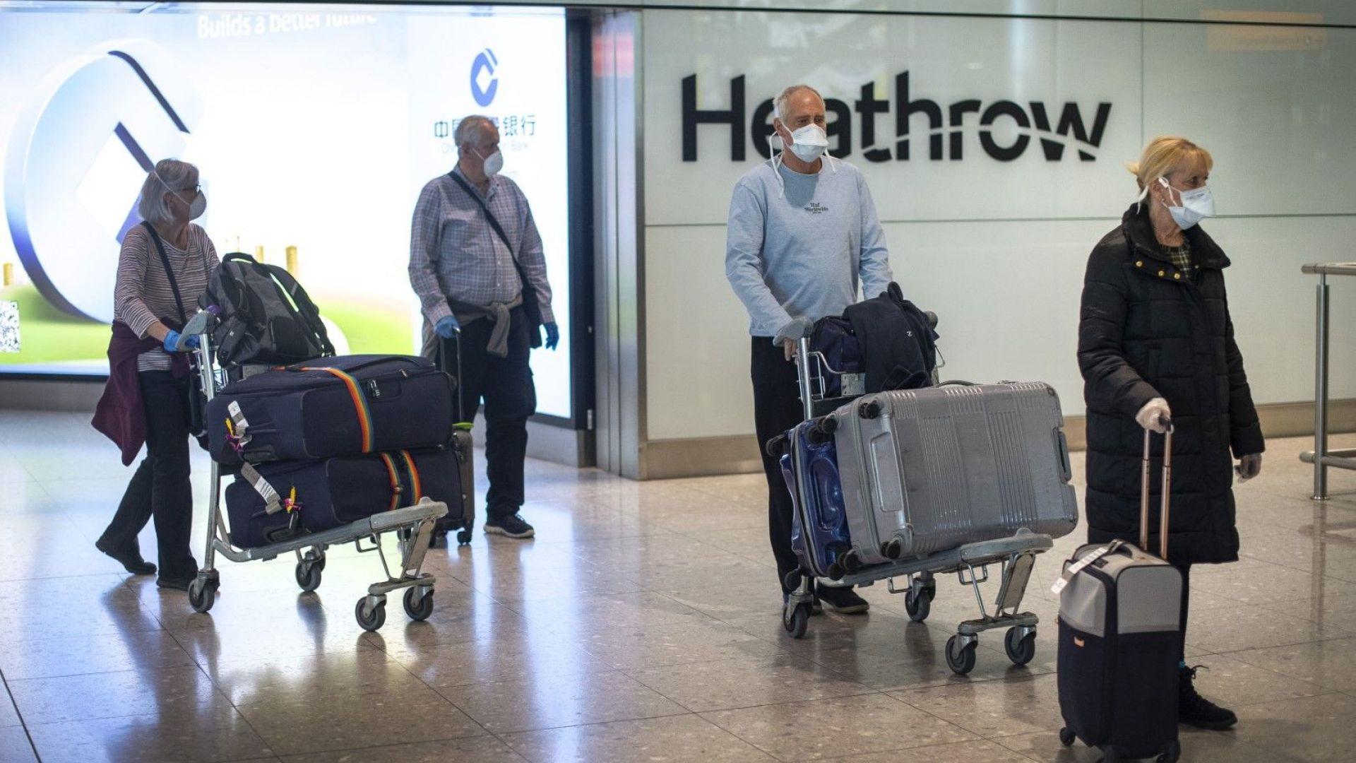 Задължителната 14-дневна карантина влиза в сила във Великобритания