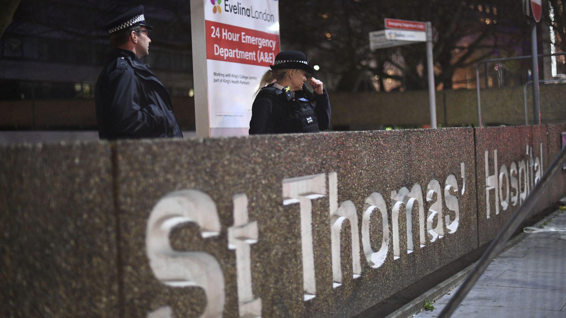 Британският премиер Борис Джонсън е излязъл от интензивното отделение, съобщи