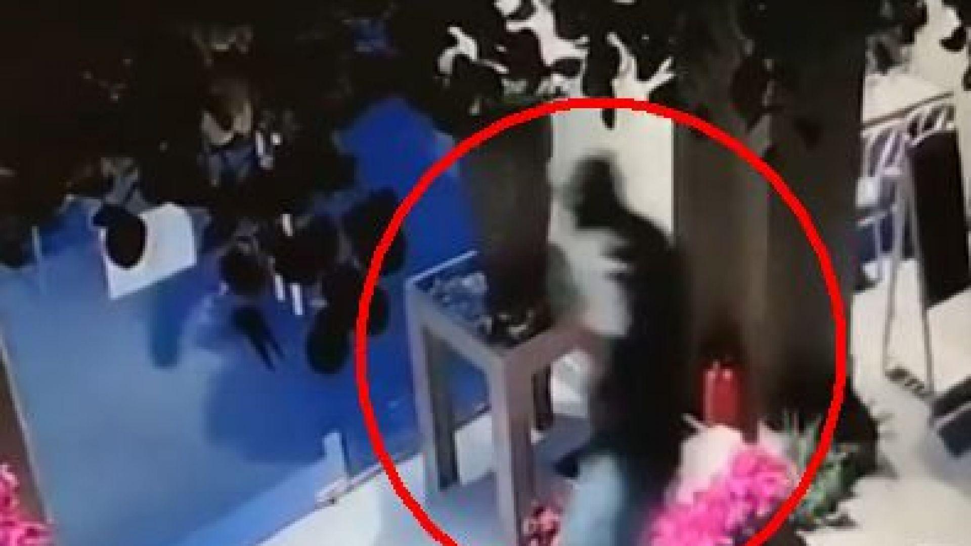 Крадец обра цветарски магазин в центъра на София дни, след