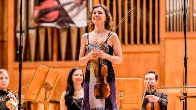 """Мила Георгиева свири Брамс в """"Музика за всички"""""""