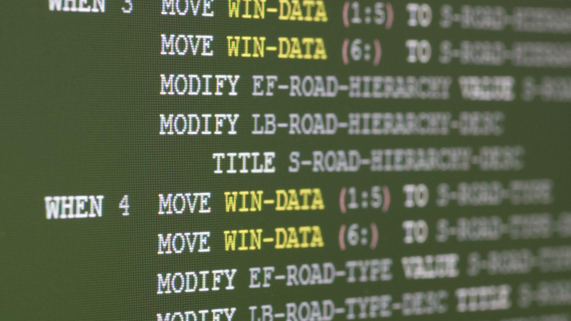 """IBM възражда """"мъртвия"""" език COBOL"""