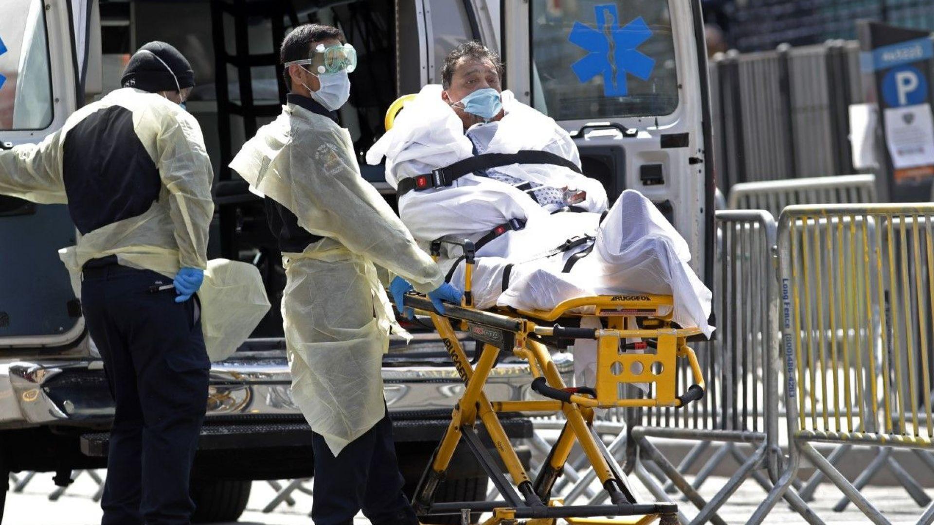 Мрачен рекорд в САЩ: 2000 заразени починаха за денонощие