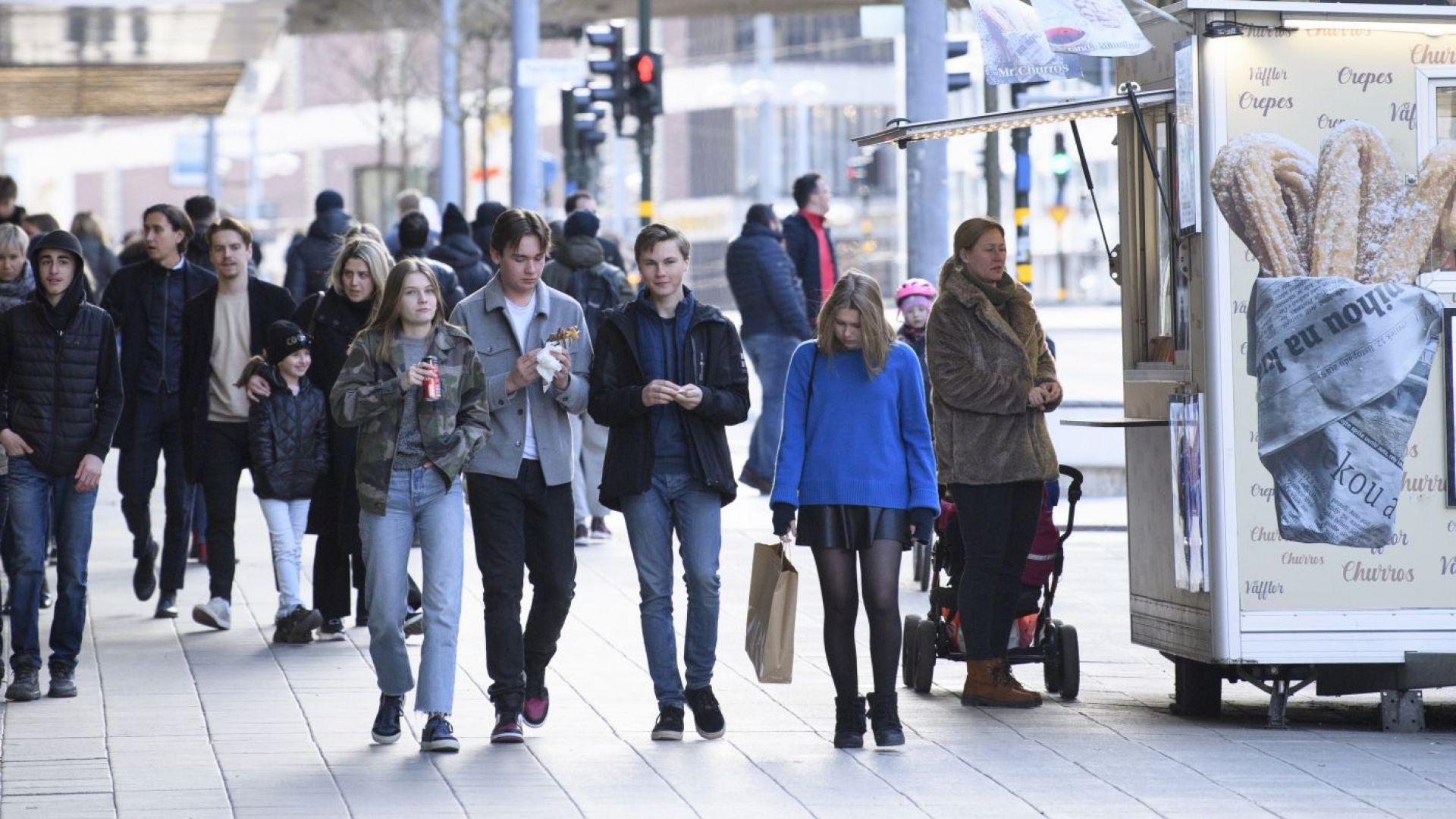 """""""Шокирани сме"""": Шведската икономика потъва"""
