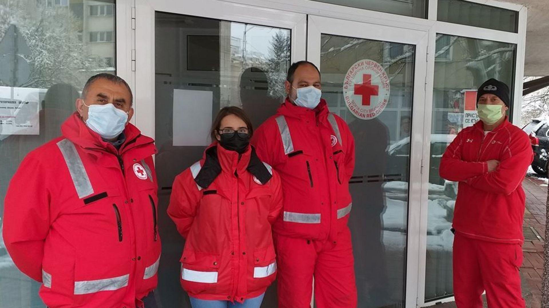 Българският червен кръст предостави за нуждите на медиците у нас